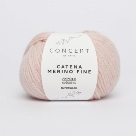 Laine à tricoter laine catena merino fine fils et laines katia