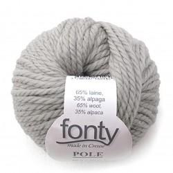 Grosse laine naturelle à...